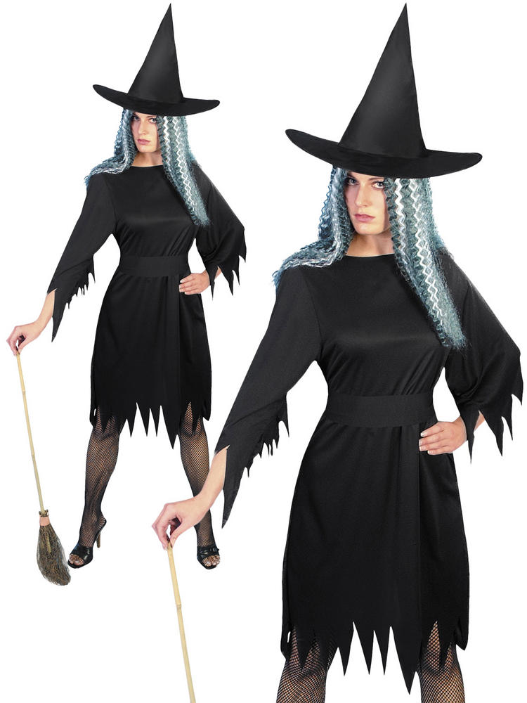 Ladies Spooky Witch Costume