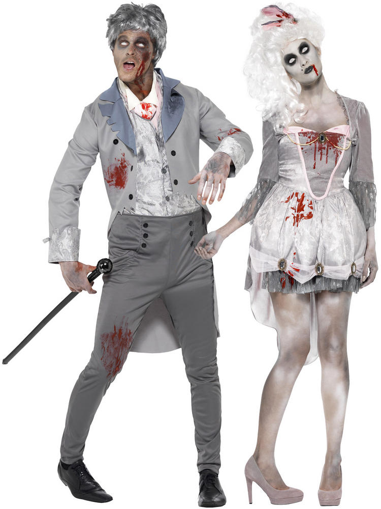 Adults Zombie Gent or Georgian Costume