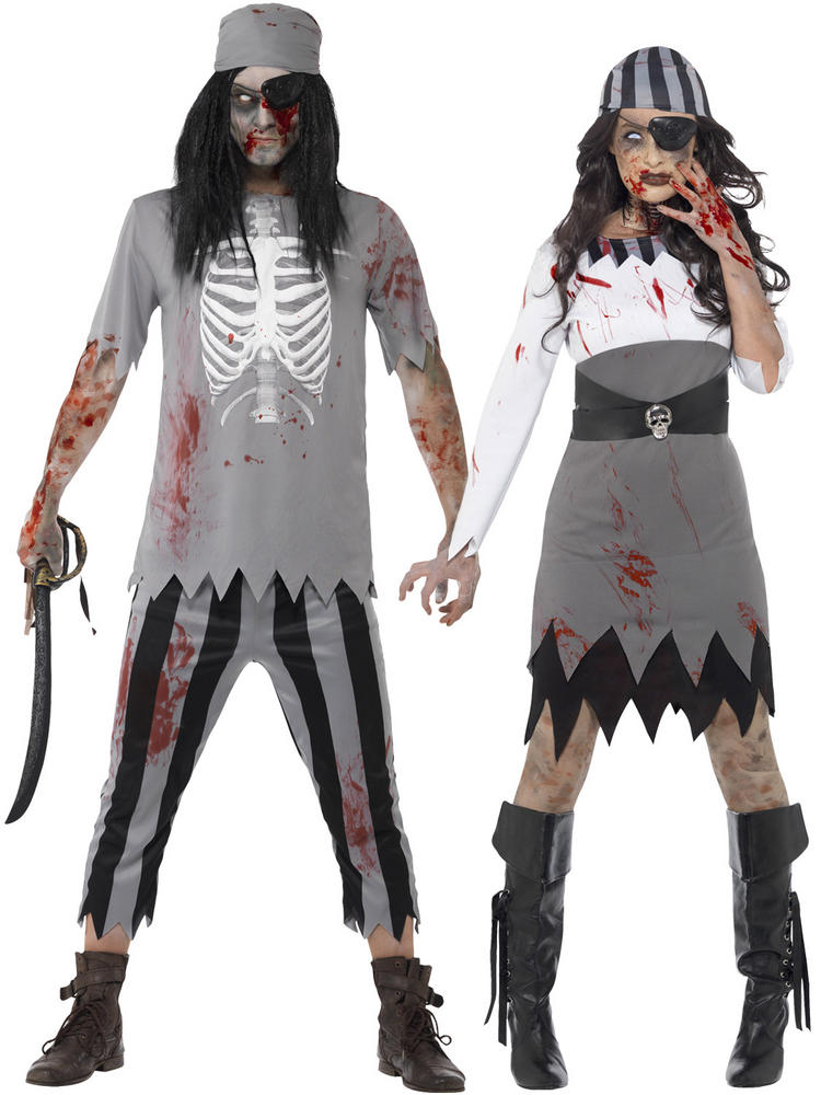 Adults Zombie Pirate Costume