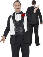 Men's Curves Gangster Costume