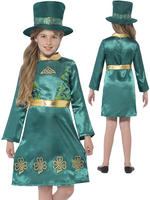 Girl's Leprechaun Girl Costume