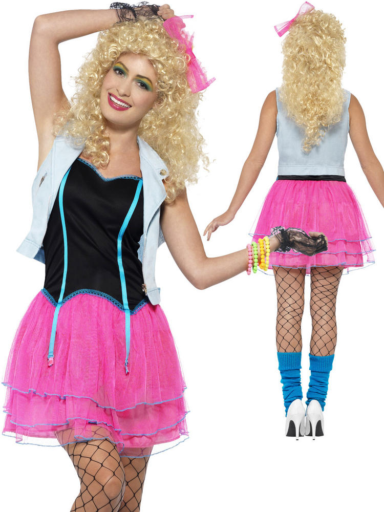 Ladies 80's Wild Girl Costume