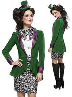 Ladies Fever Eccentric Hatter Costume