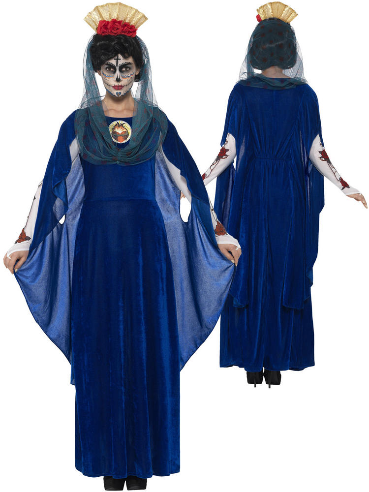 Ladies Day of the Dead Sacred Mary Costume