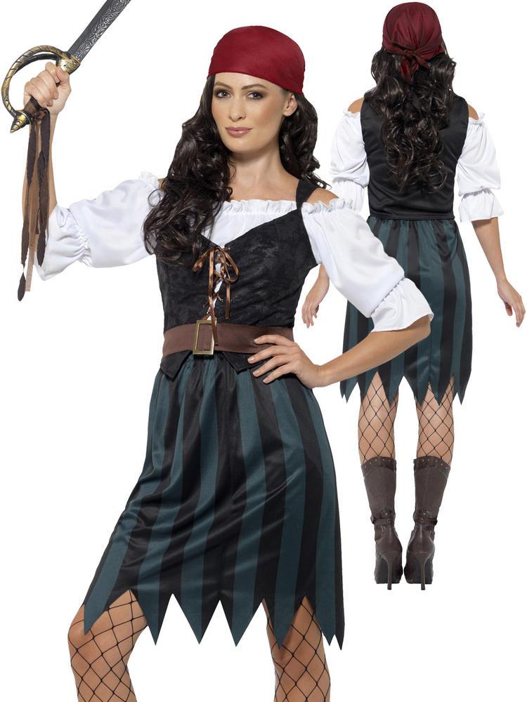 Ladies Pirate Deckhand Costume