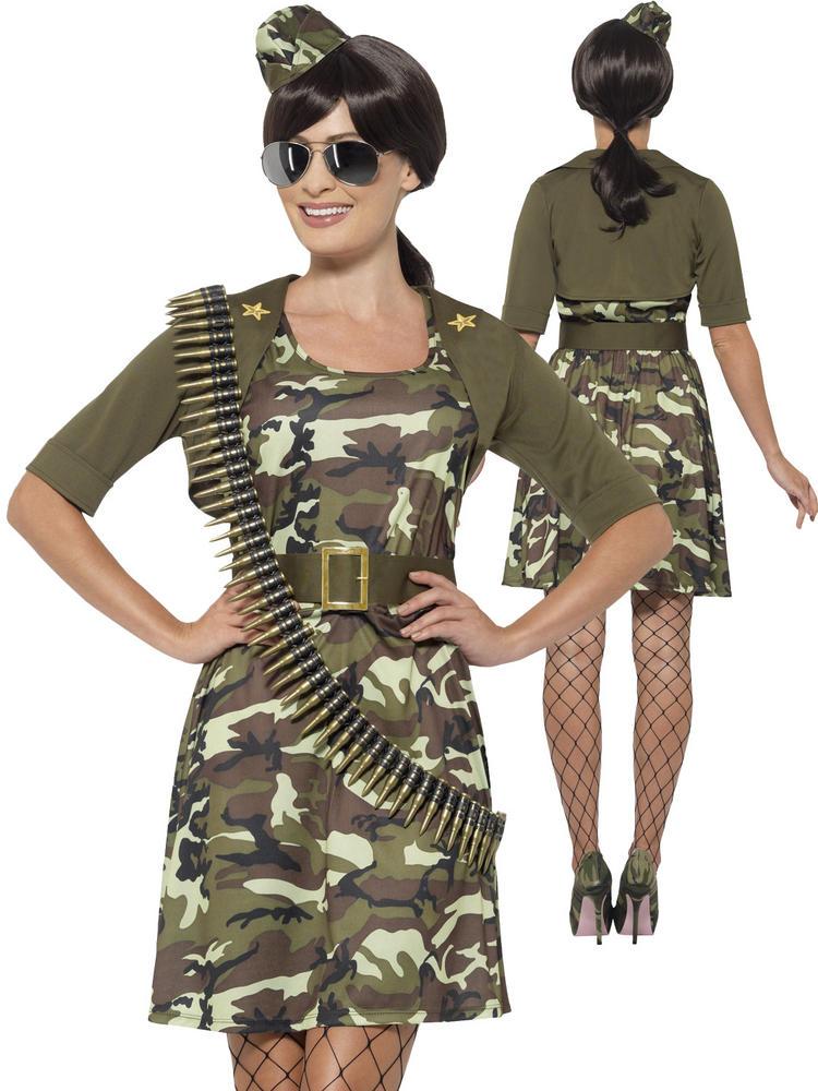 Ladies Combat Cadet Costume