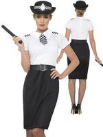 Ladies British Police Lady Costume