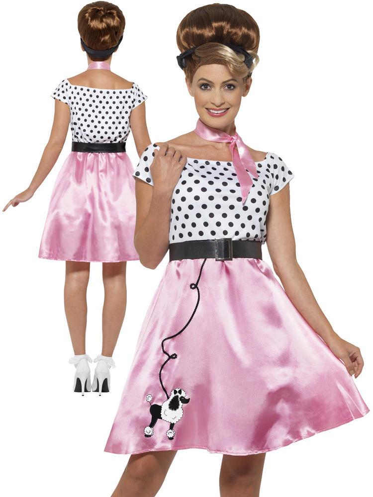 Ladies 50's Rock 'N' Roll Costume