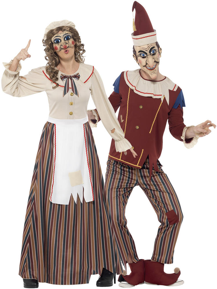 Adults Possessed Punch & Judy Costume