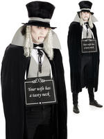 Men's Silent Film Vampire Costume