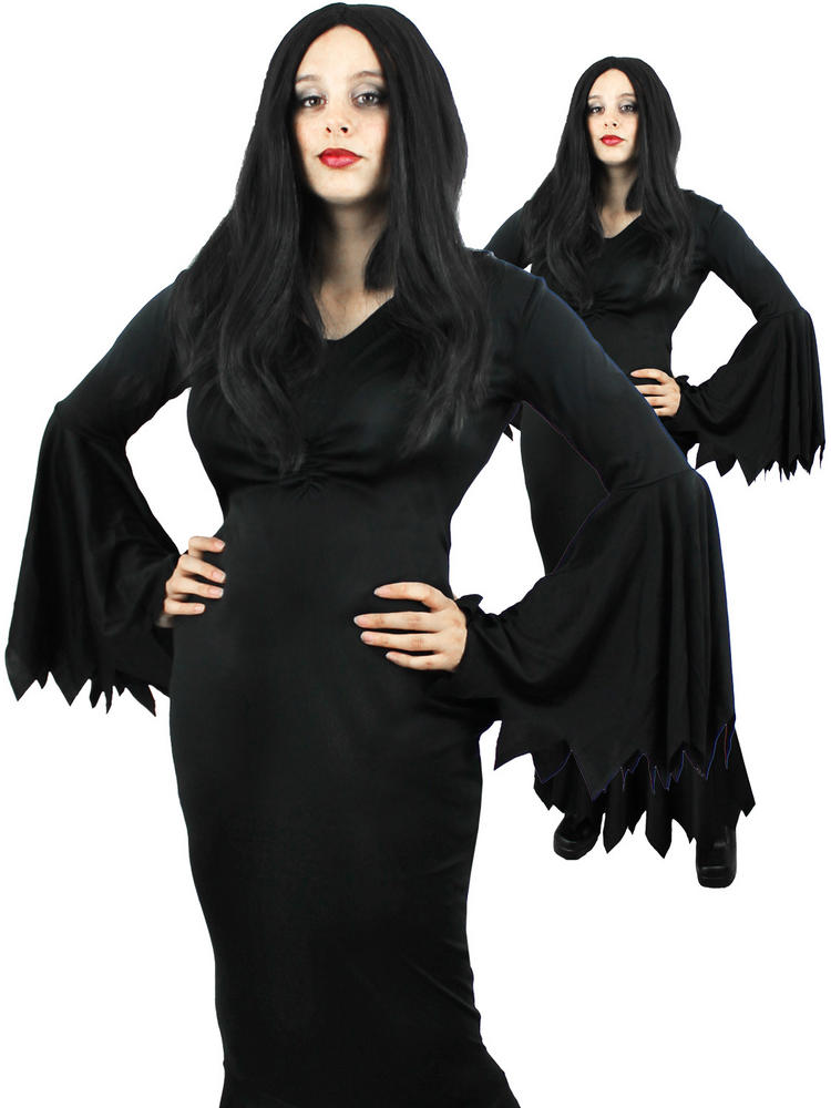 Ladies Black Gothic Dress