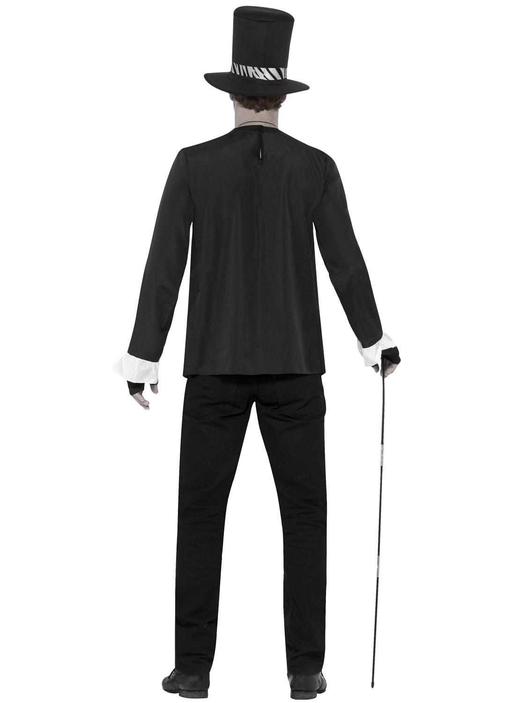 Mens Witch Doctor Costume Adult Voodoo Halloween Horror Fancy ...
