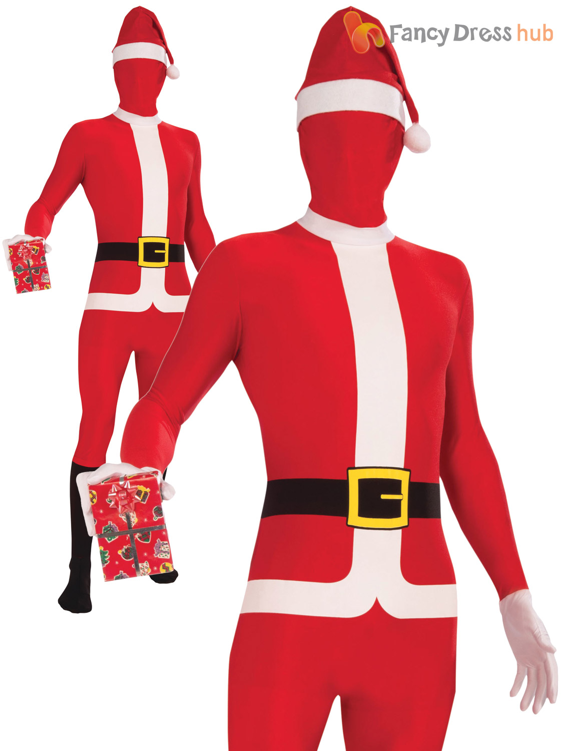 Mens-Santa-Claus-Costume-Adults-Father-Christmas-Fancy-  sc 1 st  eBay & Mens Santa Claus Costume Adults Father Christmas Fancy Dress Novelty ...