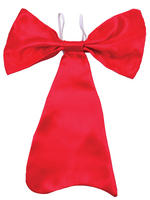 Child's Large Red Bow