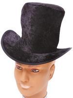 Child's Black Velvet Top Hat