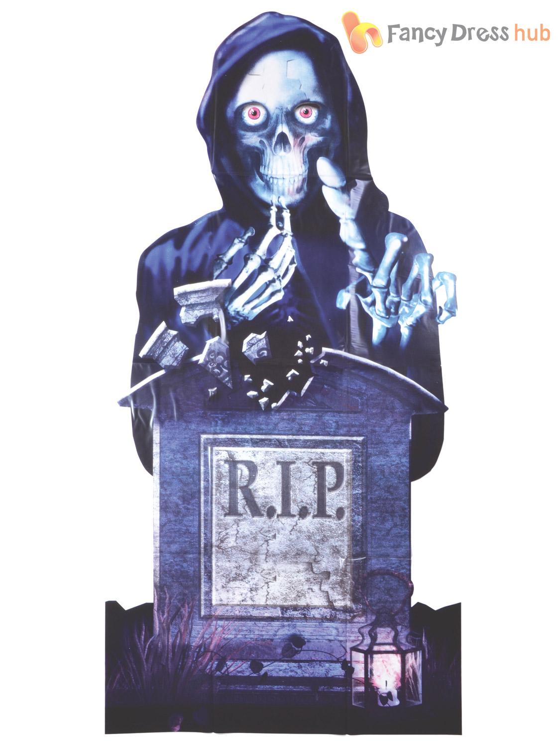 Halloween Door Poster Fancy Dress Party Decoration Scary Zombie RIP ...