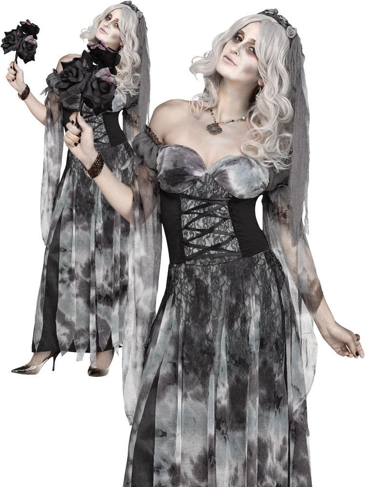 Ladies Cemetery Bride Costume