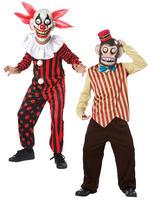 Boy's Clown Googly Eye Costume