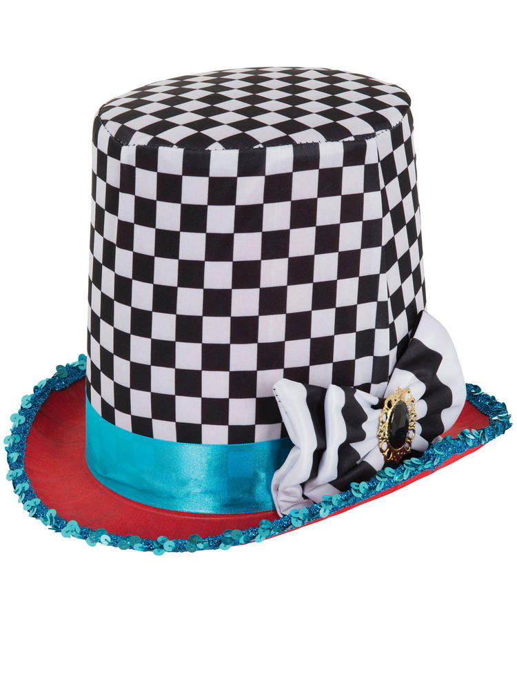 Adults Mad Hatter Top Hat