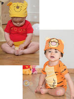 Baby Winnie The Pooh Jersey & Hat