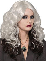 Ladies Silver Cast Wig
