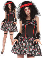 Ladies Day of the Dead Dress