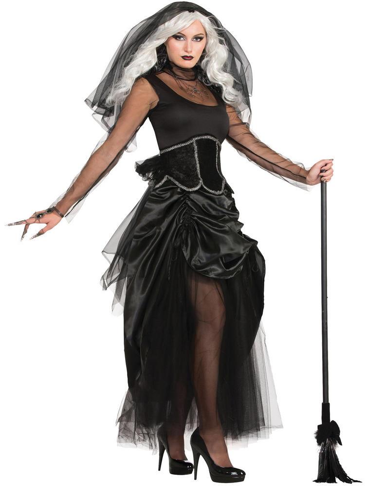 Ladies Shadow Ghost Costume