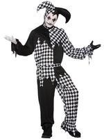 Men's Dark Jester Costume