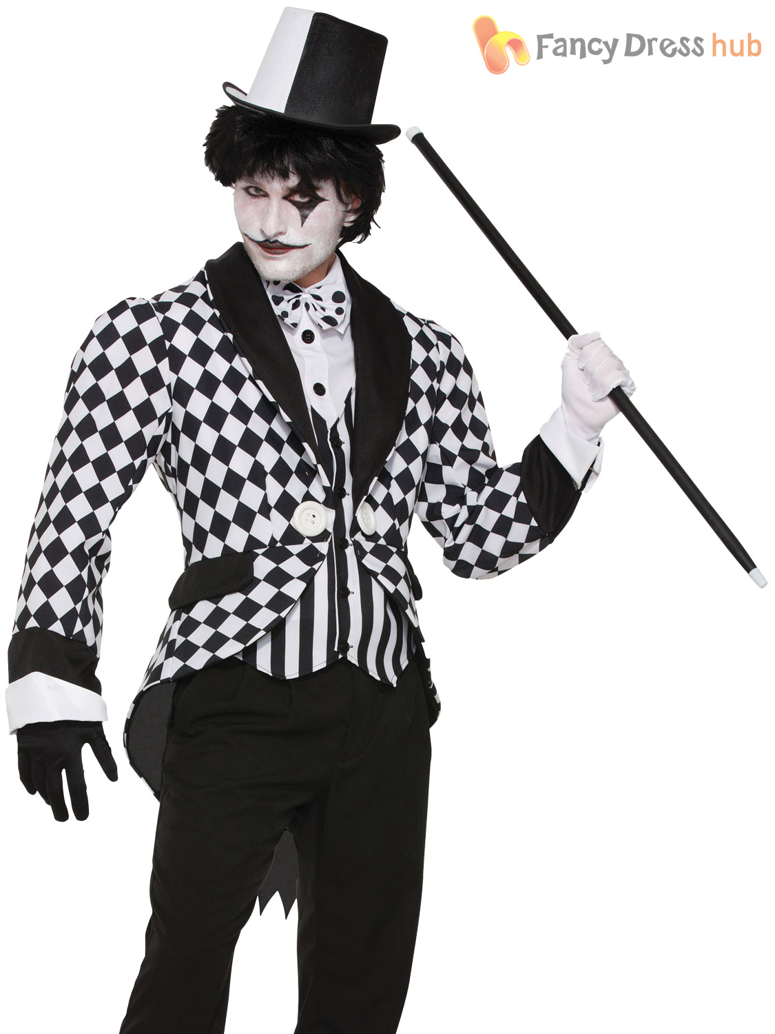 Black And White Shoes Mens Fancy Dress