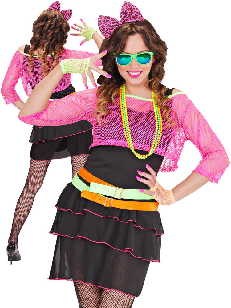 Ladies 80s Groupie Girl Costume