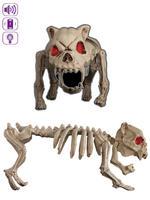 Animated Barking Skeleton Dog Pop