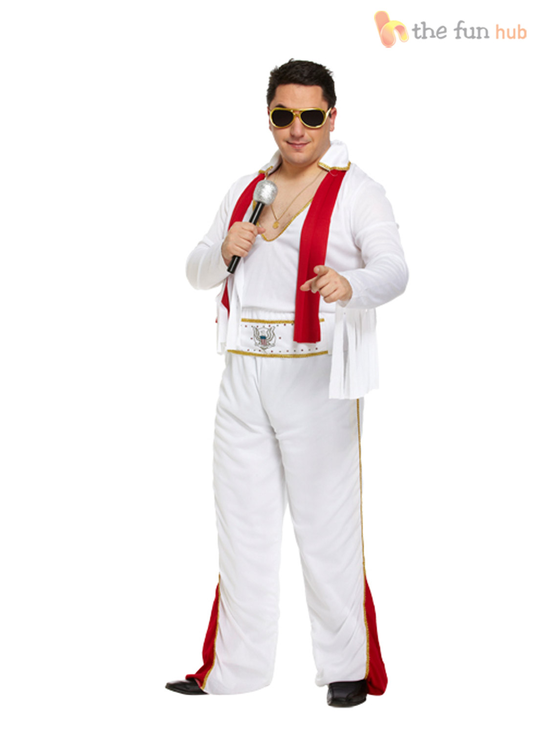 Mens-Elvis-Presley-Jumpsuit-Rocker-Rock-Star-King-50s-60s-70s-Adults-Fancy-Dress