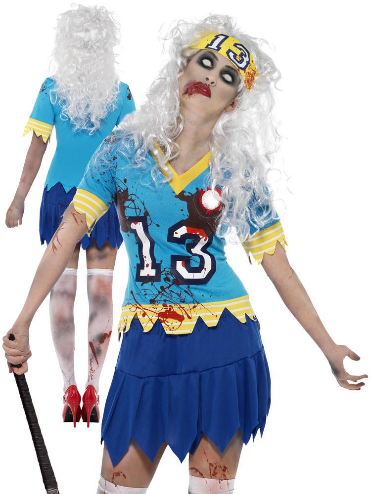 Ladies Zombie Hockey Player Costume