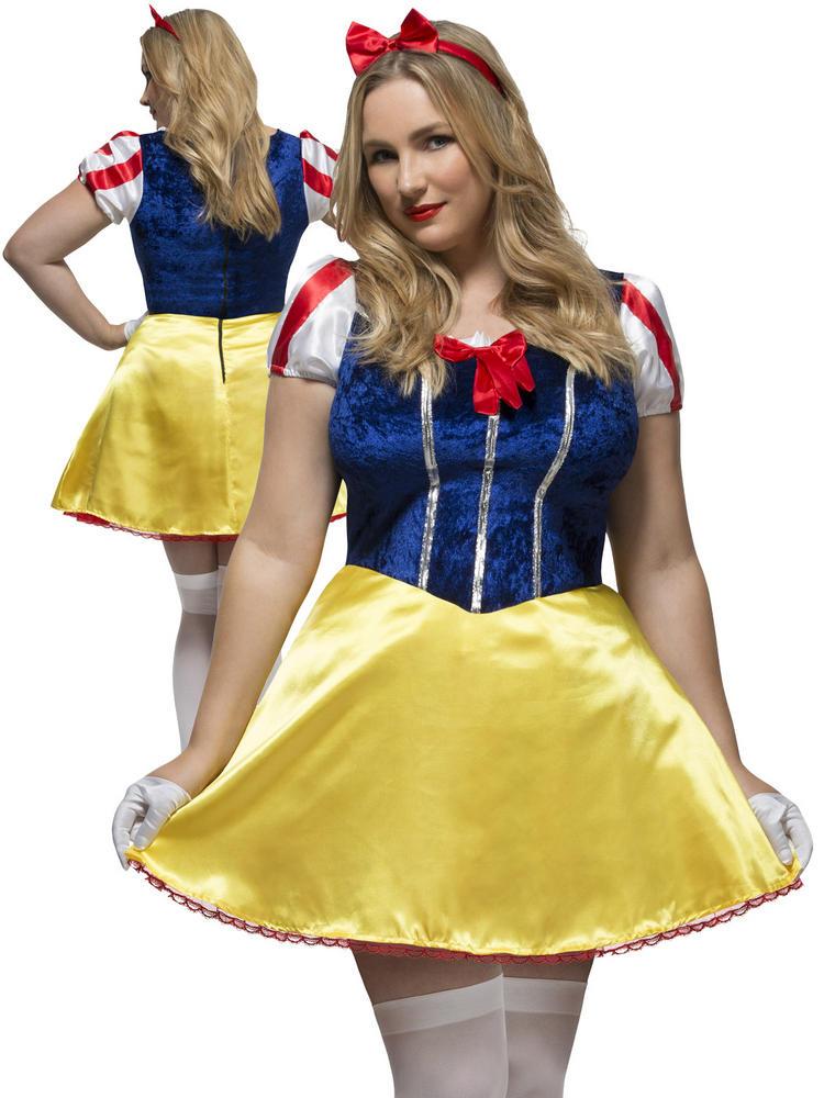 Ladies Fever Curves Fairytale Costume