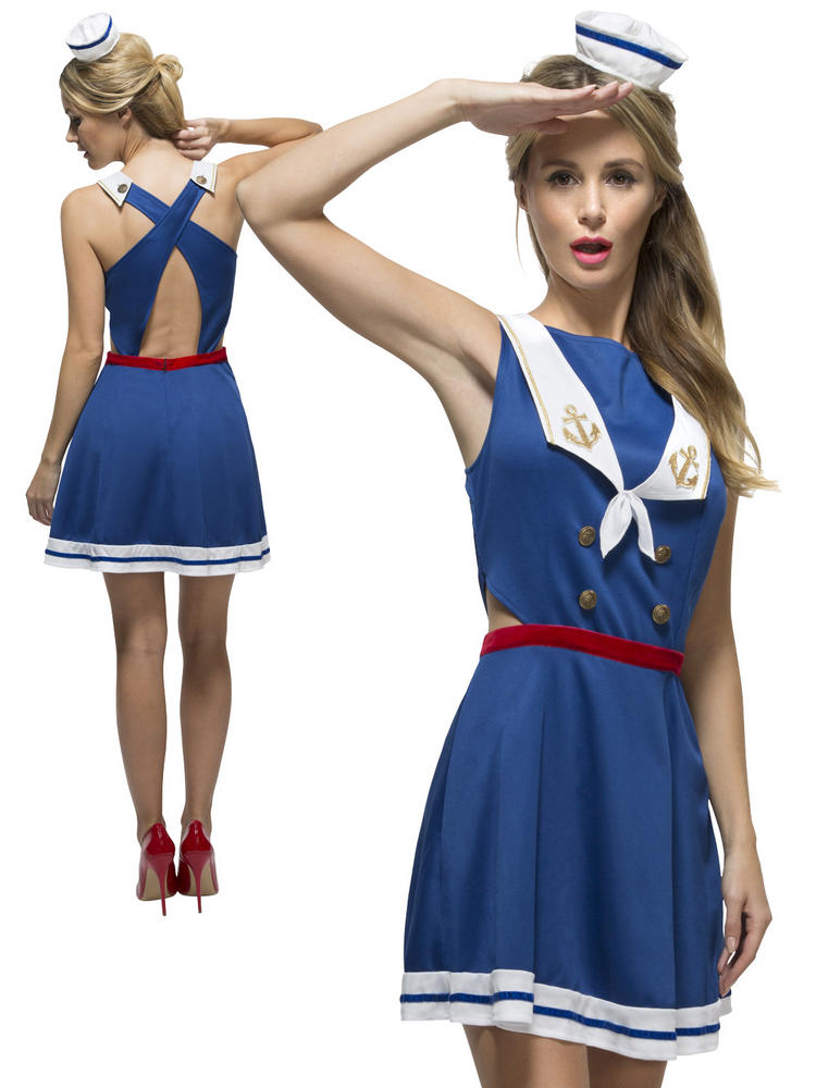 Ladies Fever Hey Sailor Costume