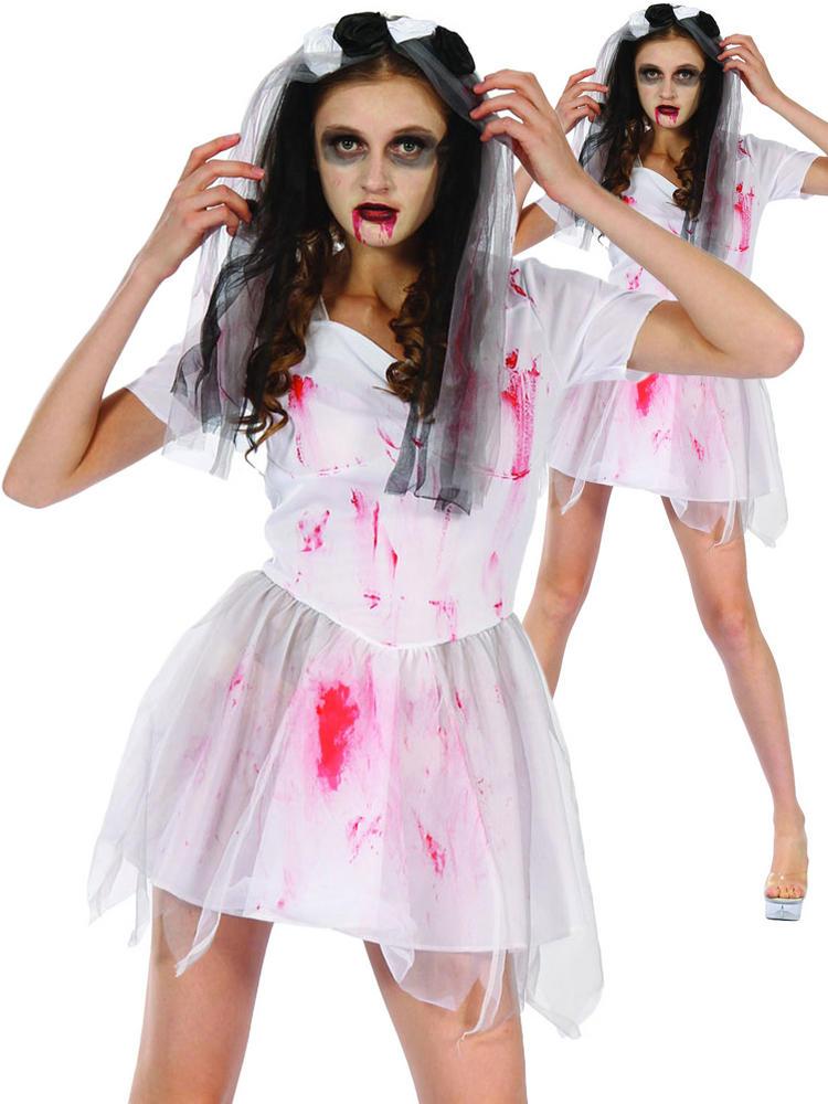 Ladies Bloody Bride Costume