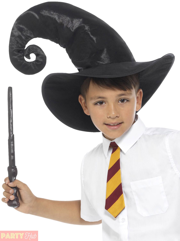 Childs Wizard Costume Boys Girls Witch Fancy Dress Kids Book Week ...