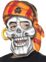 Child's Pirate Skull Mask