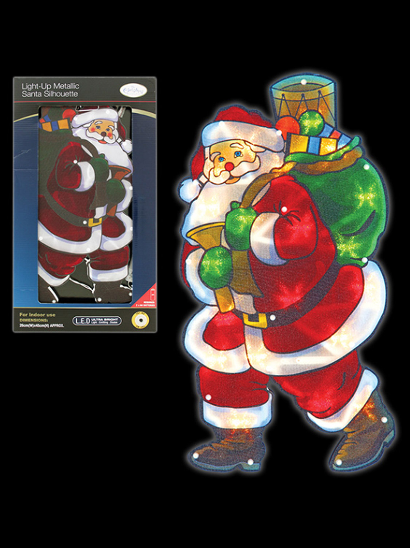 Christmas silhouette light led window festive xmas for 17 clear lighted star christmas window silhouette decoration