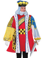 Men's King of Hearts Costume