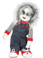 Animated Evil Chucky Doll