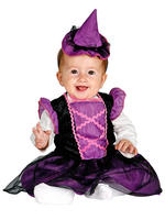 Girl's Baby Purple Witch Costume