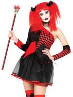Ladies Harlequin Costume