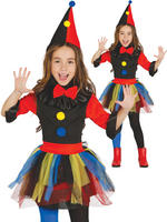 Girl's Killer Clown Costume