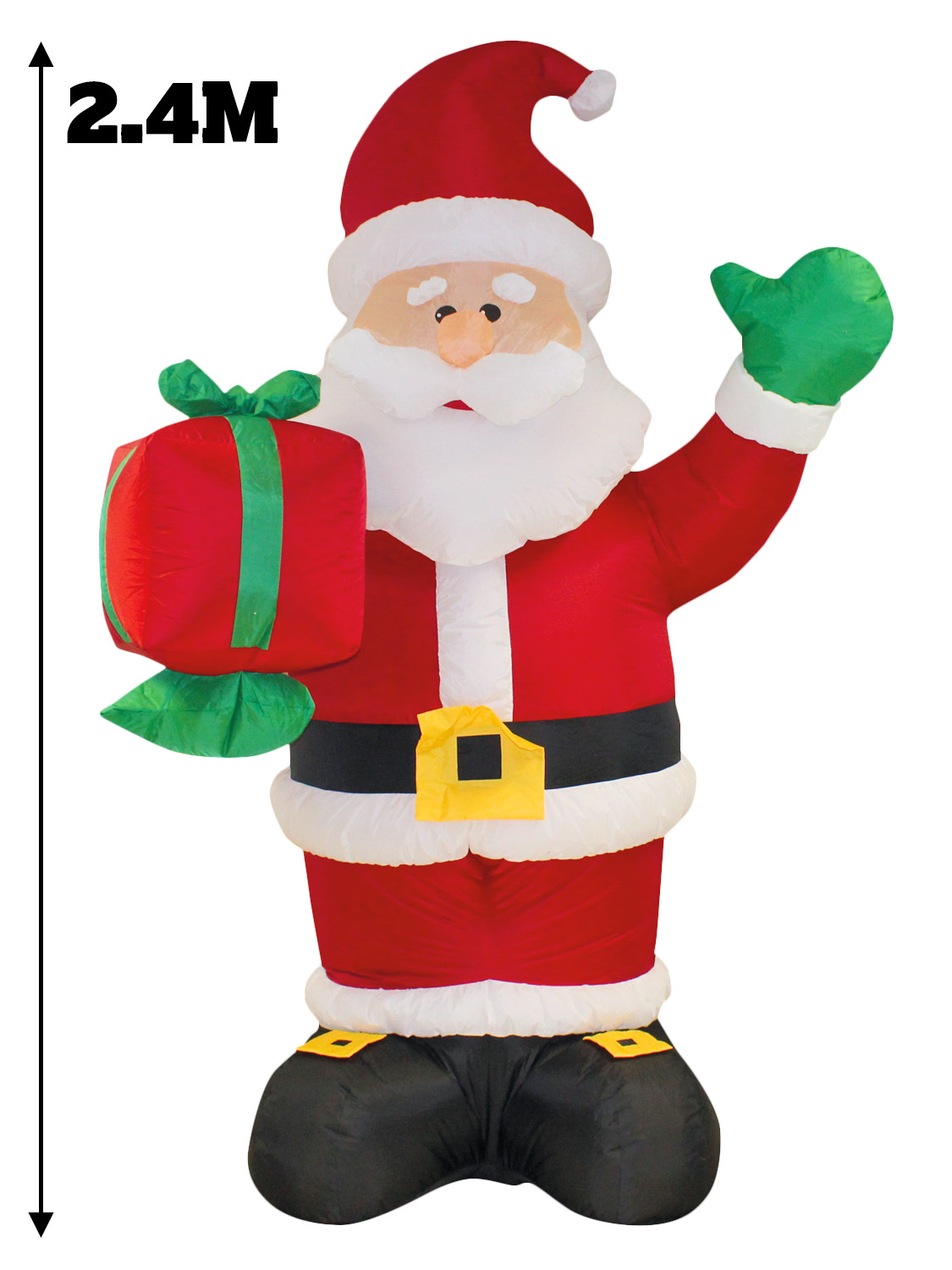 Ft giant inflatable christmas decoration outdoor snowman