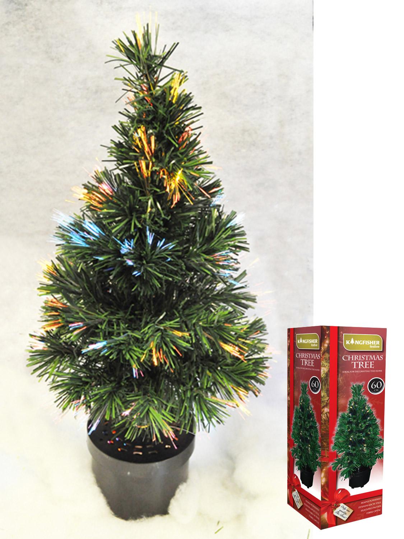 fibre optic christmas tree colour changing light up. Black Bedroom Furniture Sets. Home Design Ideas