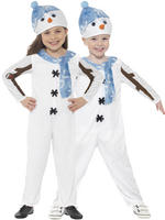 Childs Toddler Snowman Costume