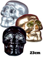 Glitter Skull Decoration Prop