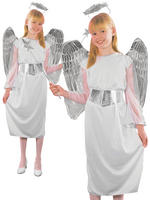 Girl's Angel Budget Costume