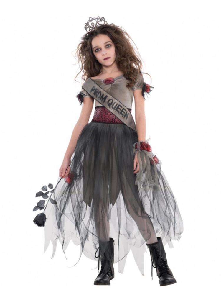 Ladies Prombie Queen Costume